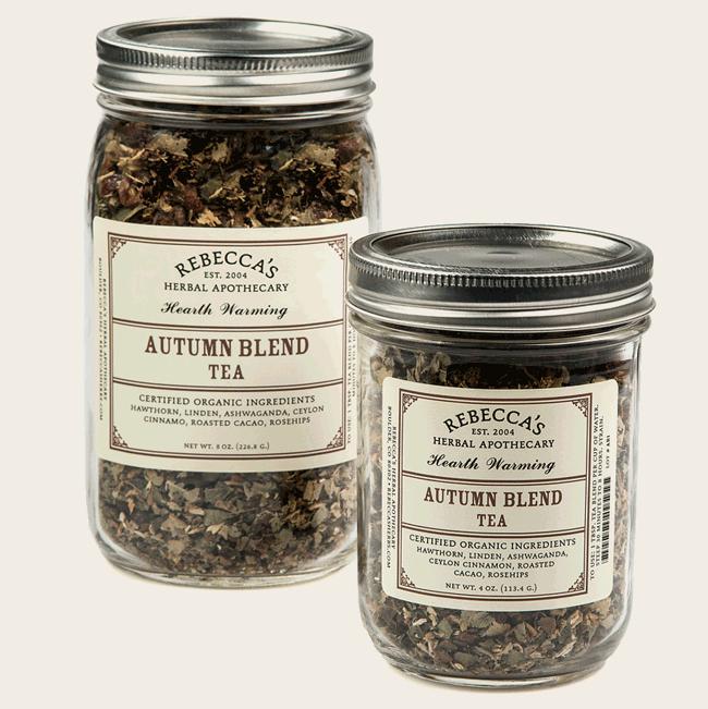 autumn blend tea