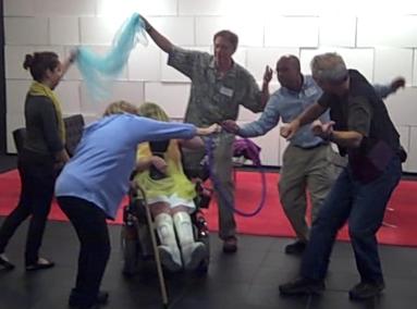 teaching artists dancing