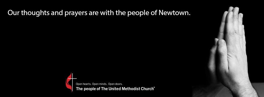 Our thoughts and prayers are with the people of Newtown