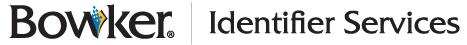 Bowker Identifier Services
