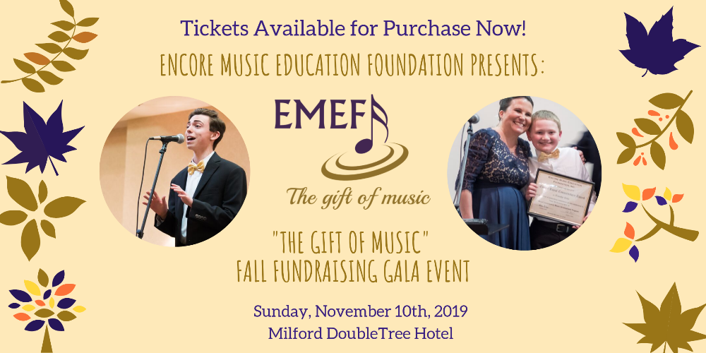 You are invited to join us in giving The Gift of Music!