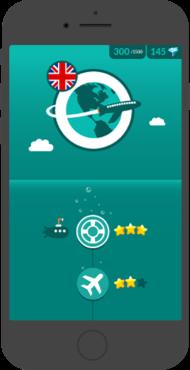 WordDive app