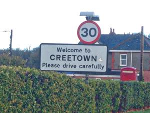 Creetown Sign