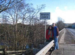 Lisa & Chris at the River Cree