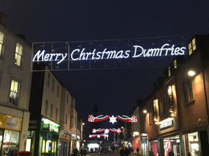 Merry Christmas Dumfries