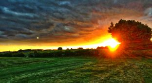 Dumfries Sunset