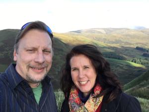 Scottish Hills Selfie