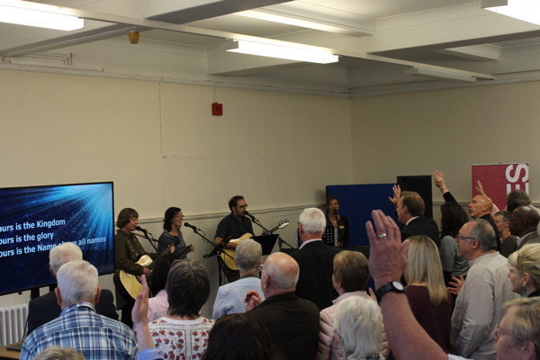 Worship at Grand Opening