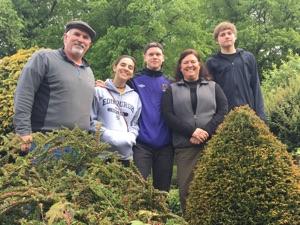 The Galloway family