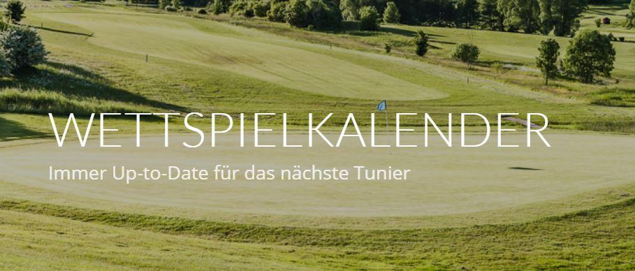Golfclub Praforst Wettspielkalender 2018: Jetzt Online und als Download verfügbar