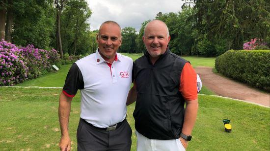 PGA LV Hessen George Diakou und Roger Gallagher triumphieren