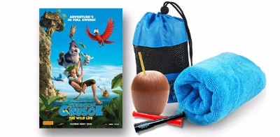 ROBINSON CRUSOE movie prize packs