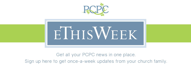 PCPC eThisWeek