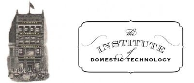 Institute of Domestic                                     Technology