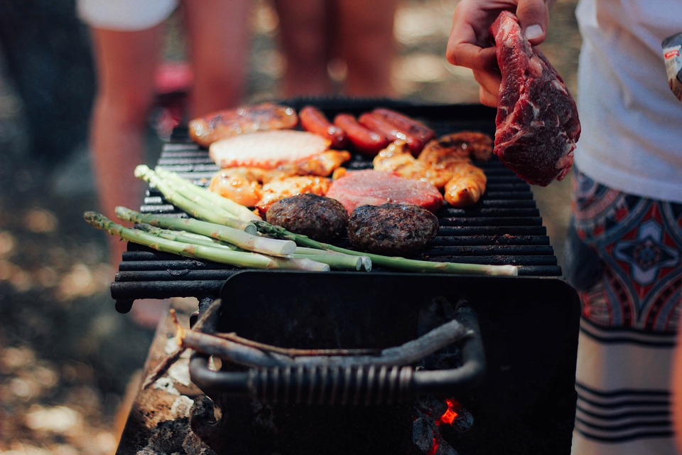 Asparagus, Barbecue, Bbq, Beef, Food, Grill, Meat