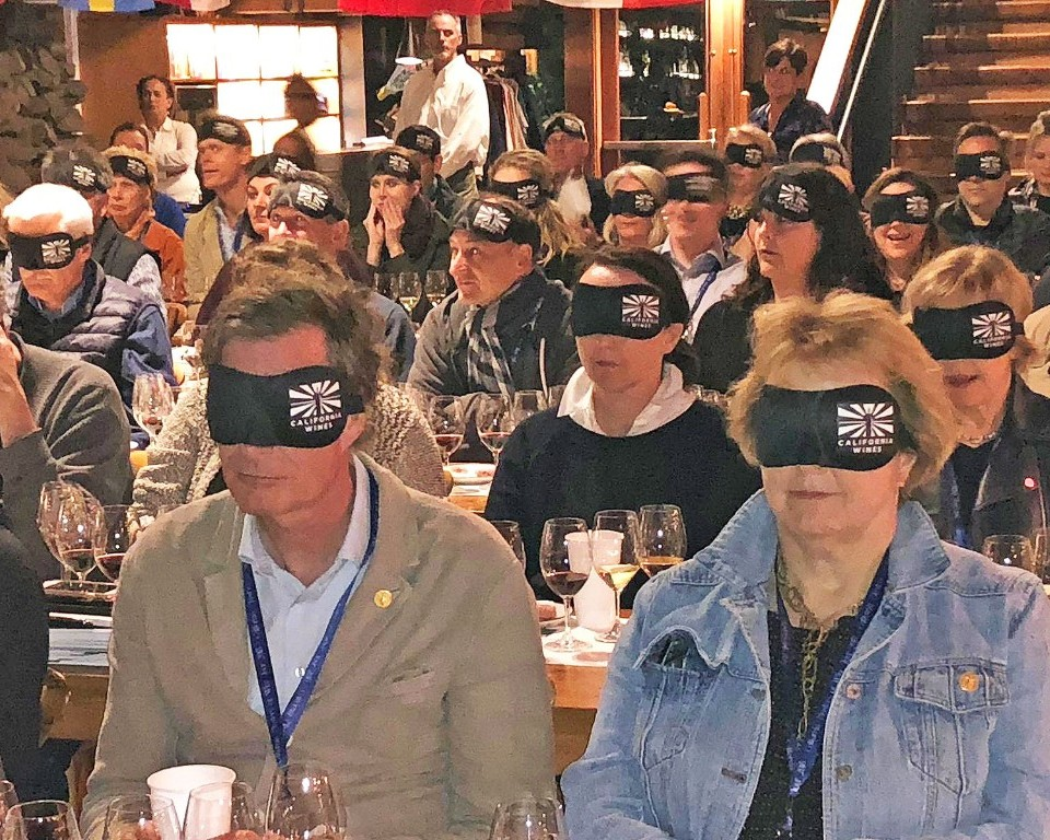 At Timber Cove Lodge on the Sonoma Coast, the MW group experienced a truly blind tasting of wines from across the state, led by Hoby Wedler, PhD