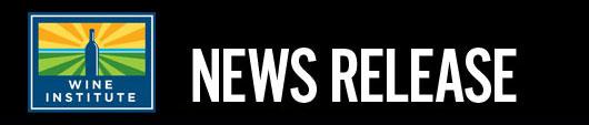 Wine Institute News Release
