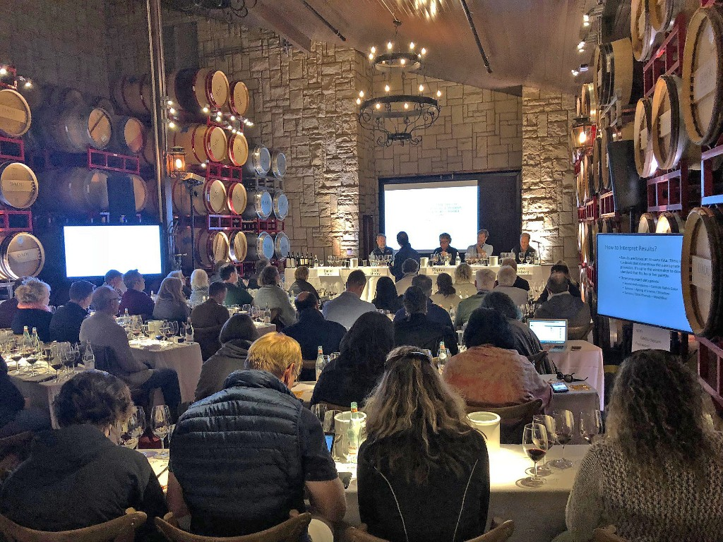 A panel of Paso Robles vintners explored the role of phenolics in the winemaking process at a tasting of the region's wines at Daou Vineyards
