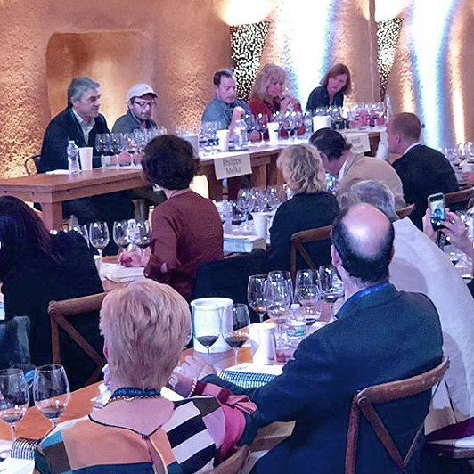 At Stag's Leap Wine Cellars, a panel of consulting winemakers shared their experiences in Napa Valley and beyond