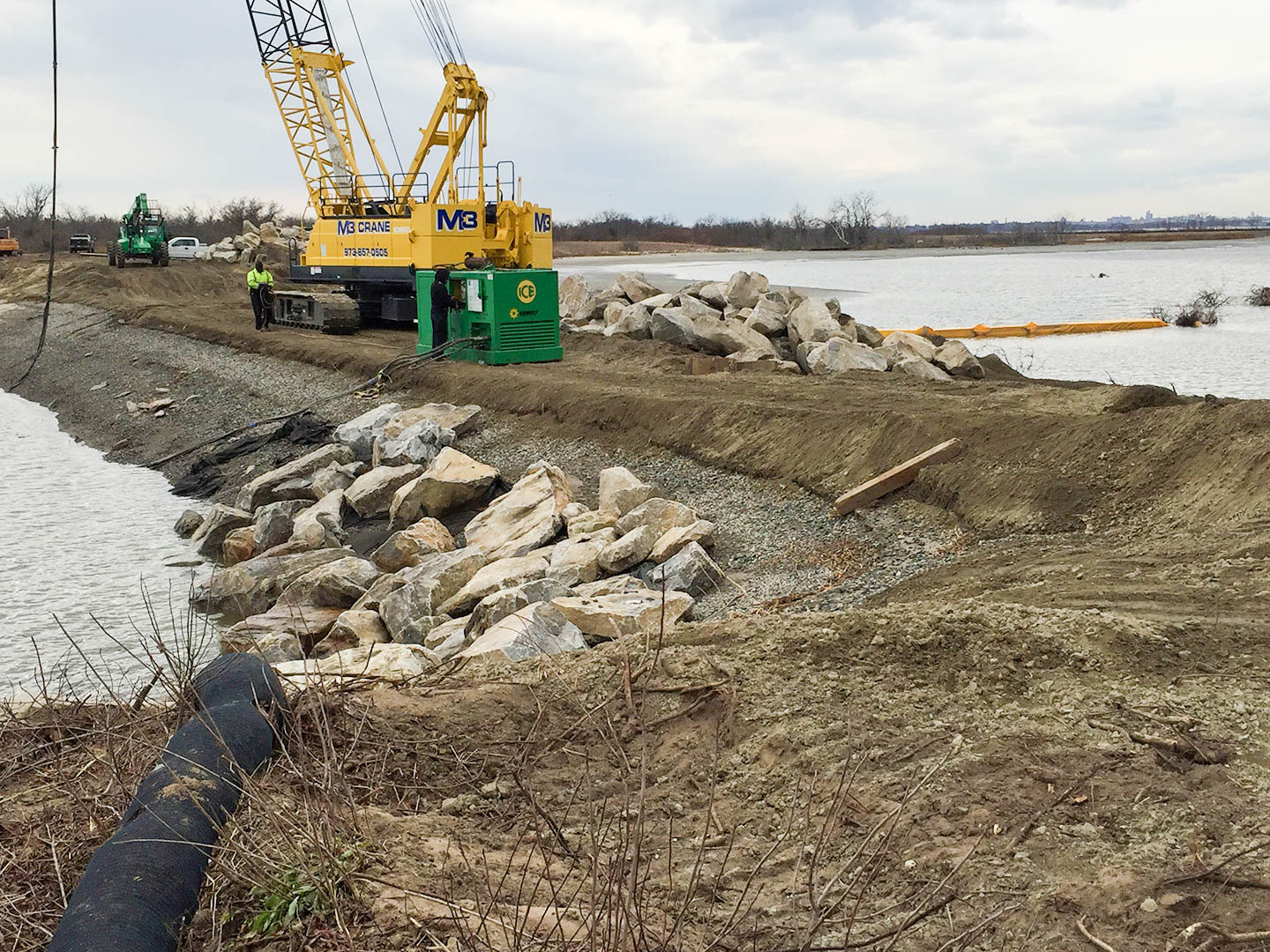 Jamaica Bay's West Pond Breach Closed © Don Riepe