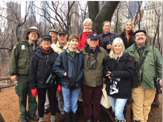 Central Park CBC Southeast Team © Lynn Hertzog