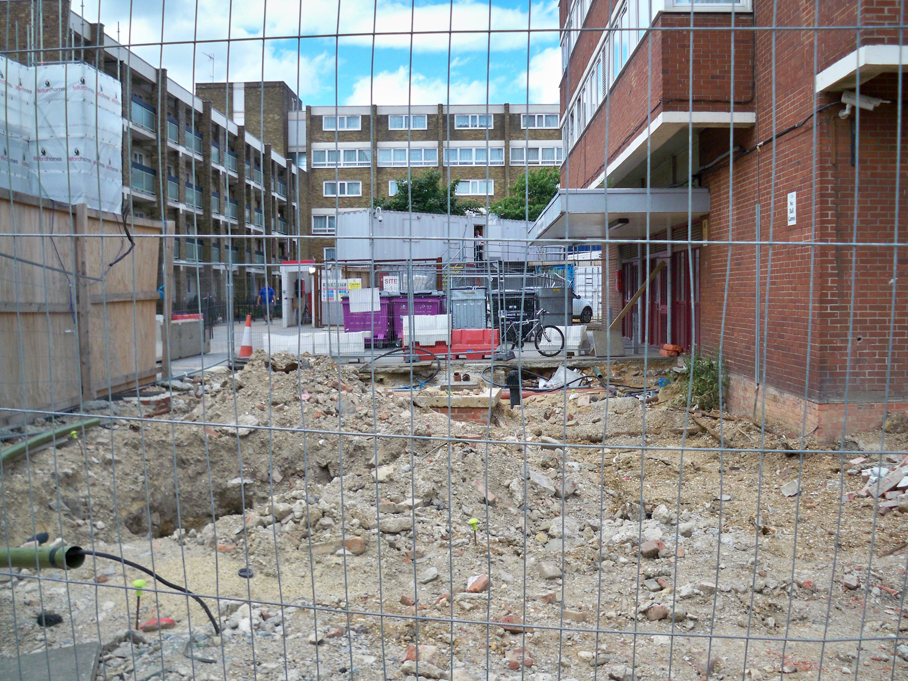 Site 1 building site