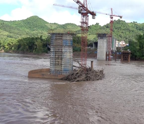 Laos China railway project