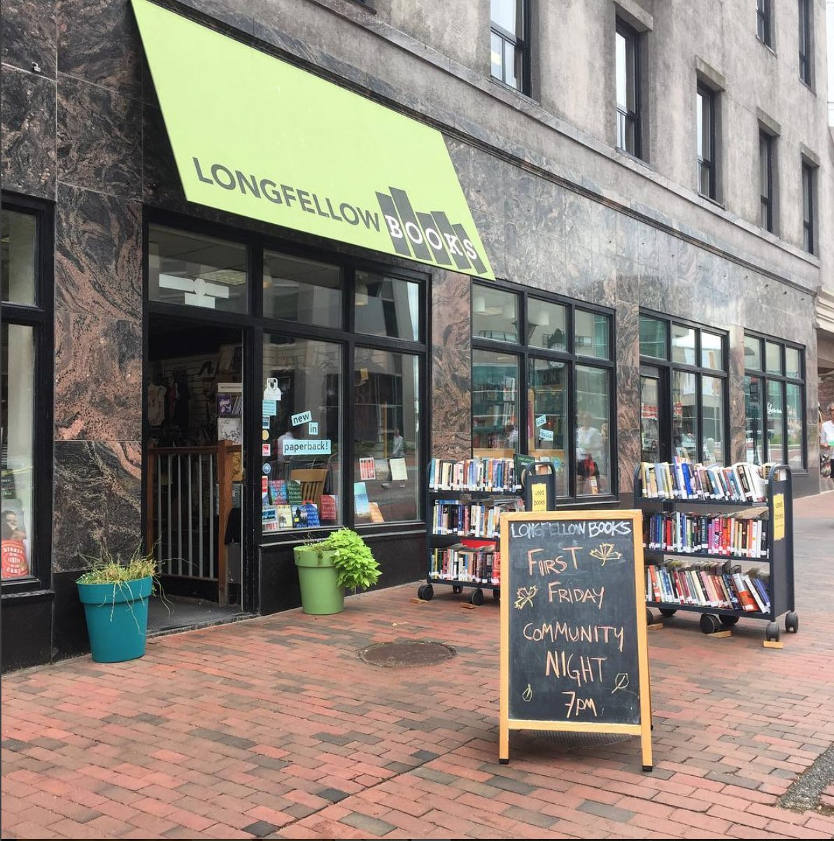 Image: Independent bookstore.