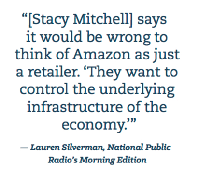 Image: Stacy Mitchell quote.