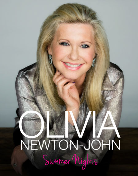"""Order Olivia's new Souvenir Tour Book featuring new pictures from her Las Vegas """"Summer Nights"""" show"""