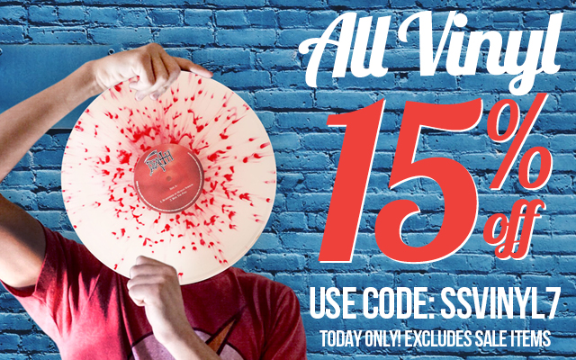 Today Only! 15% off vinyl Code: SSVINYL7 Ends 1/11/18