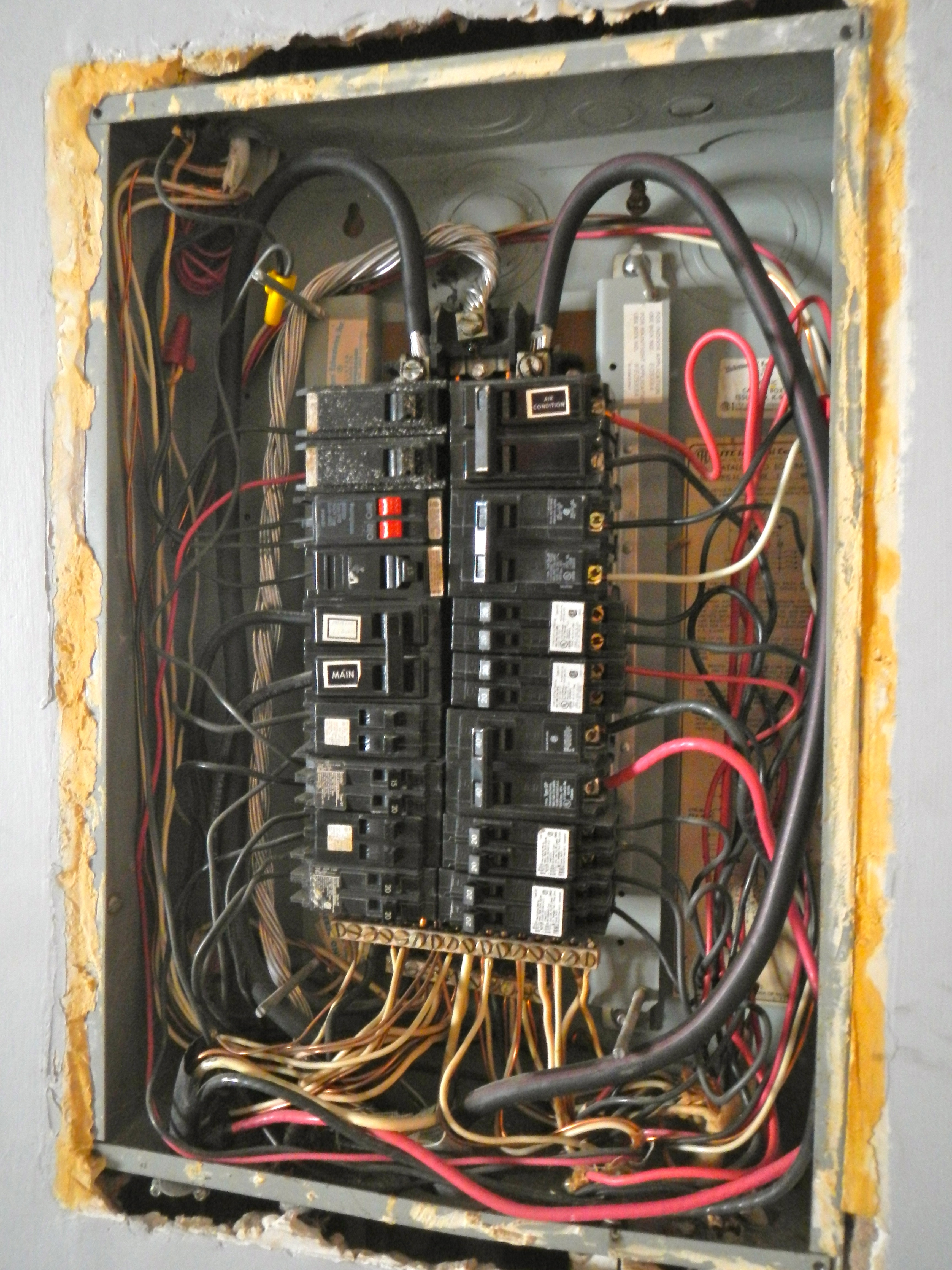 Maxed-out electrical panels are one of the questions you should ask your home inspector about.