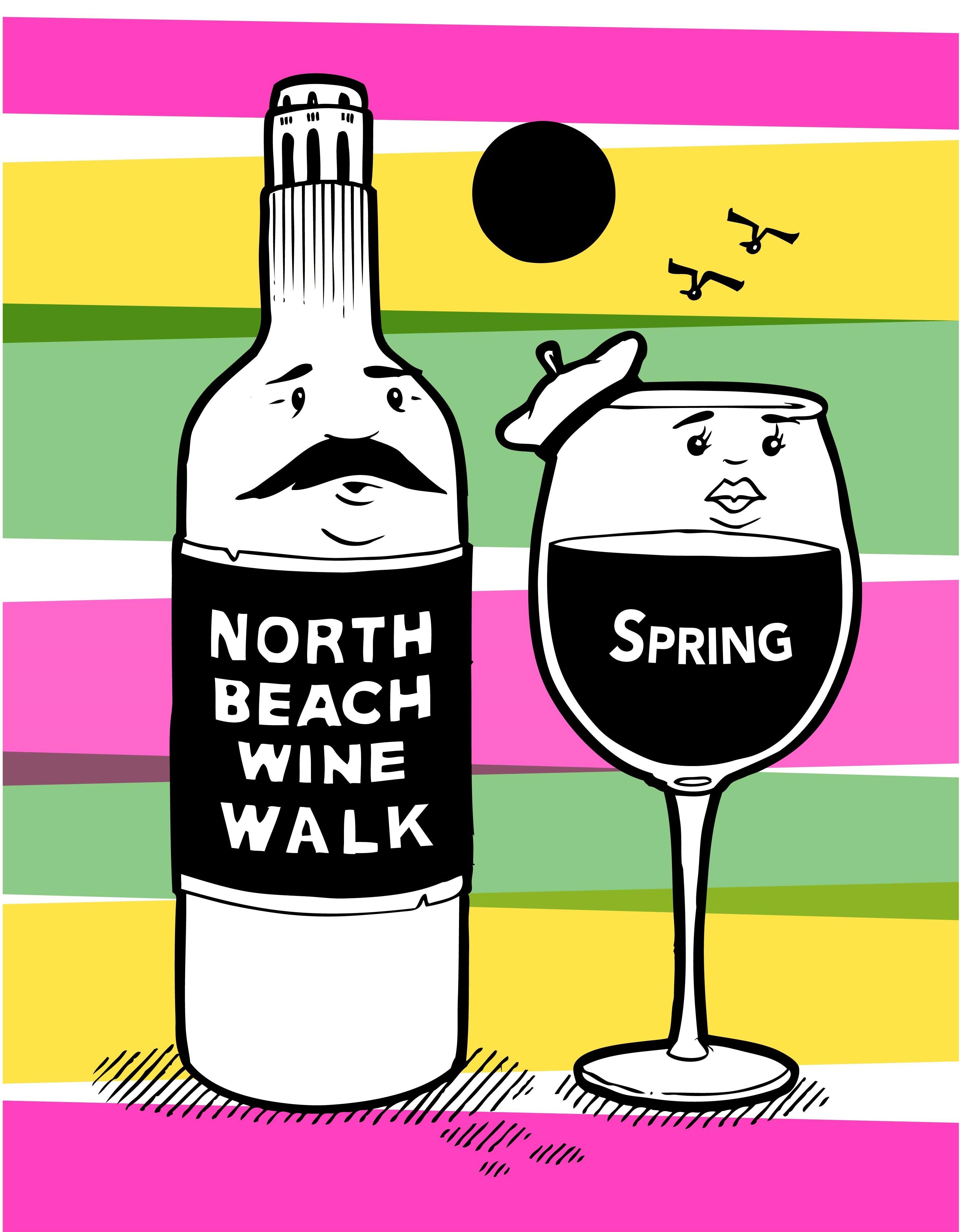 North Beach Wine Walk