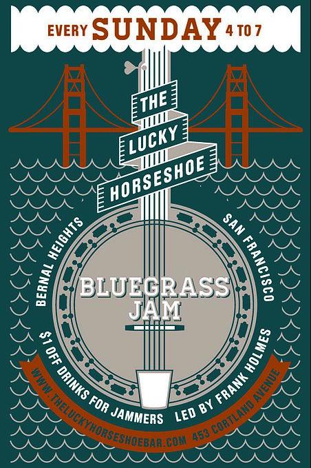 Bernal Heights Bluegrass Jam