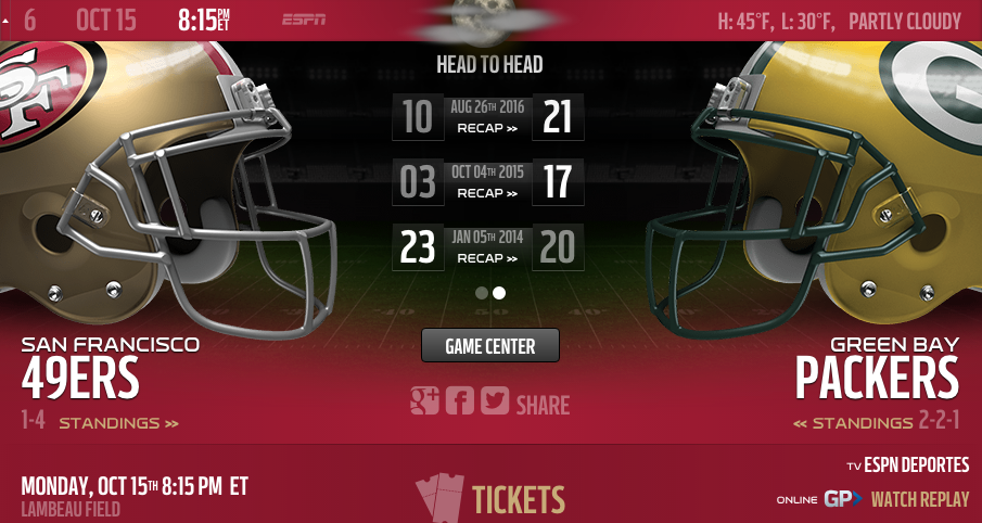 49ers Matchup