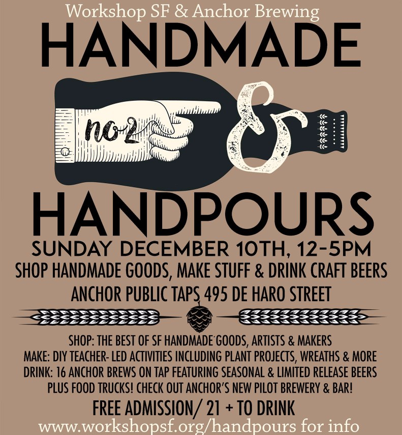 Handmade & Handpours Holiday Mart