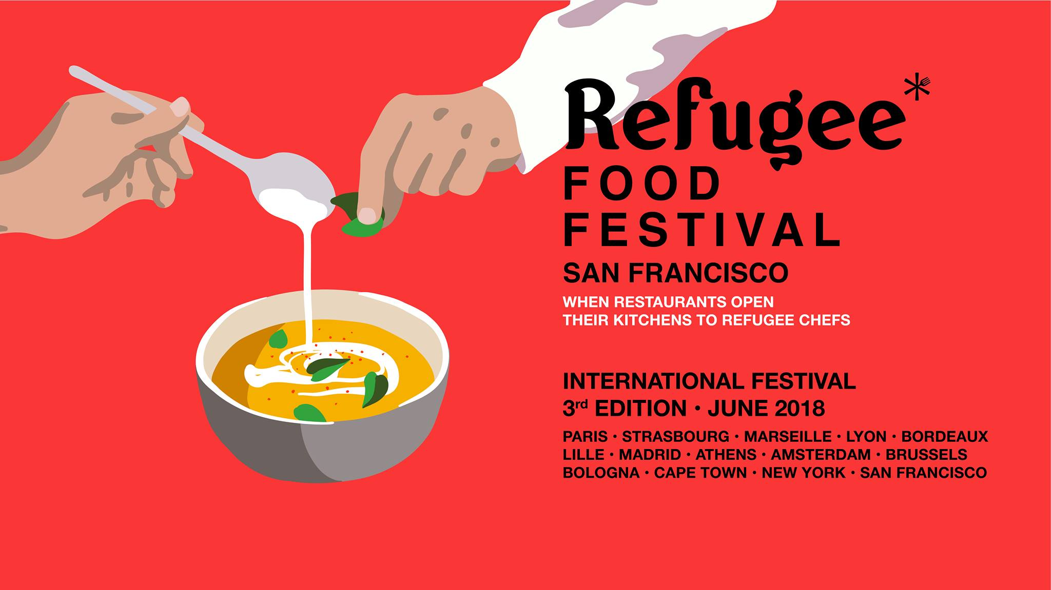 Refugee Food Festival - San Francisco