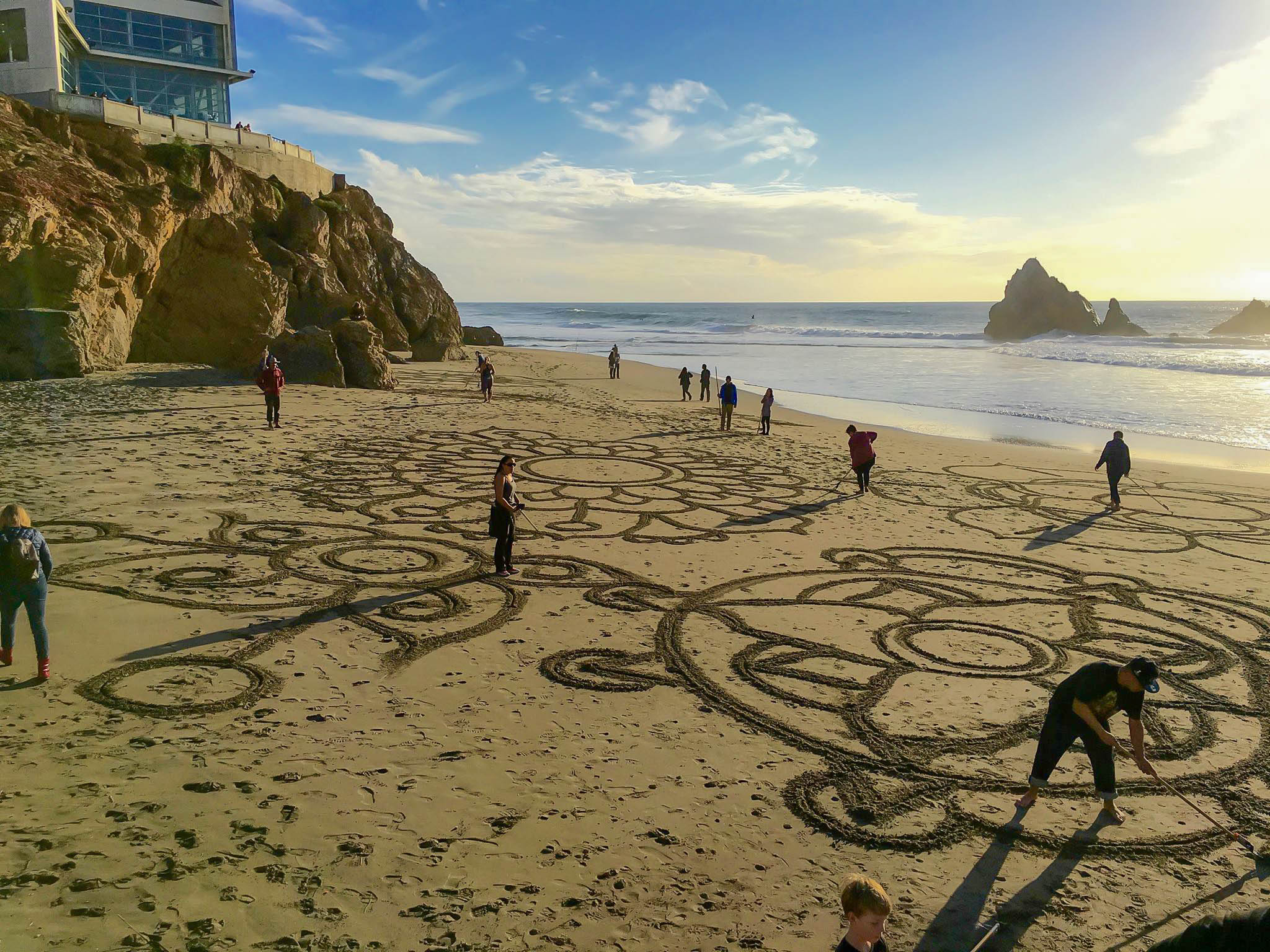 Meditational Beach Artwork