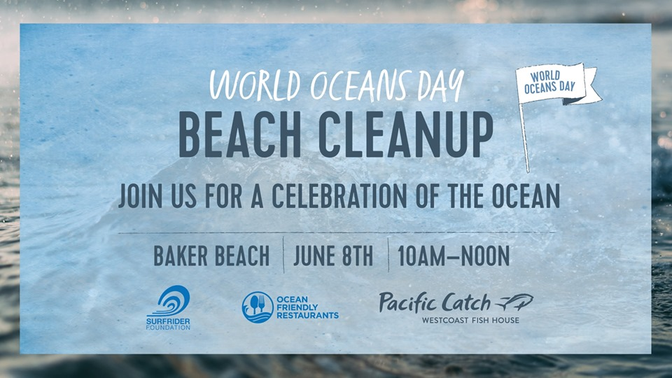 World Oceans Day Beach Cleanup
