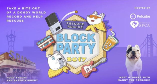 Petcube Rescue Block Party 2017