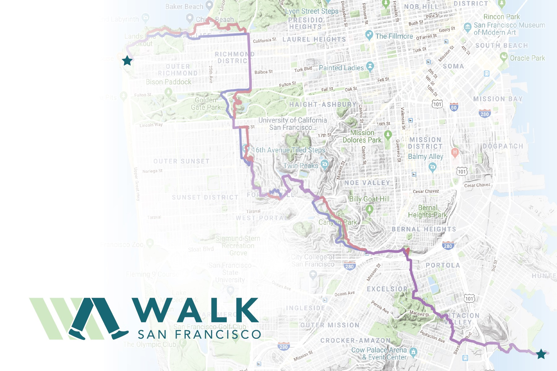 Hike the New Cross Town Trail