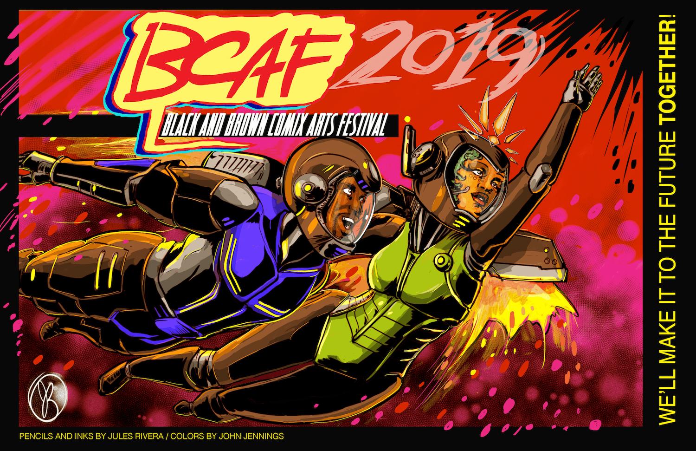 Black & Brown Comix Arts Fest