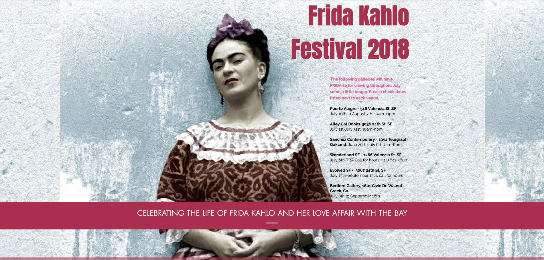 Frida Kahlo Festival 2018