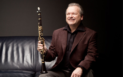 Michael Collins, clarinet & Michael McHale, piano, coffee concert