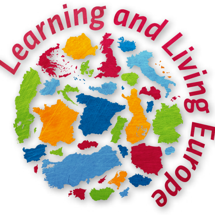 Logo Learning and living Europe