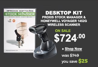 Desktop Proxis Inventory Kit