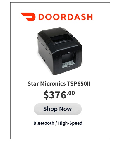 Doordash Compatible Printer
