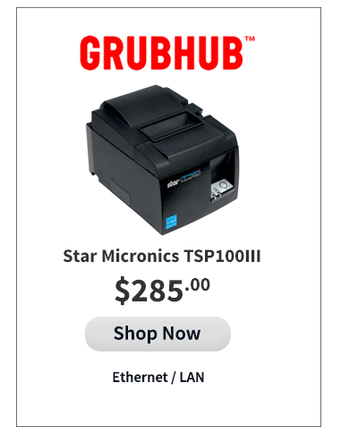 Grubhub Compatible Printer