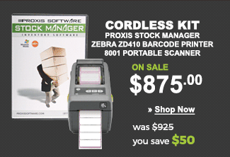 Cordless Proxis Inventory Kit