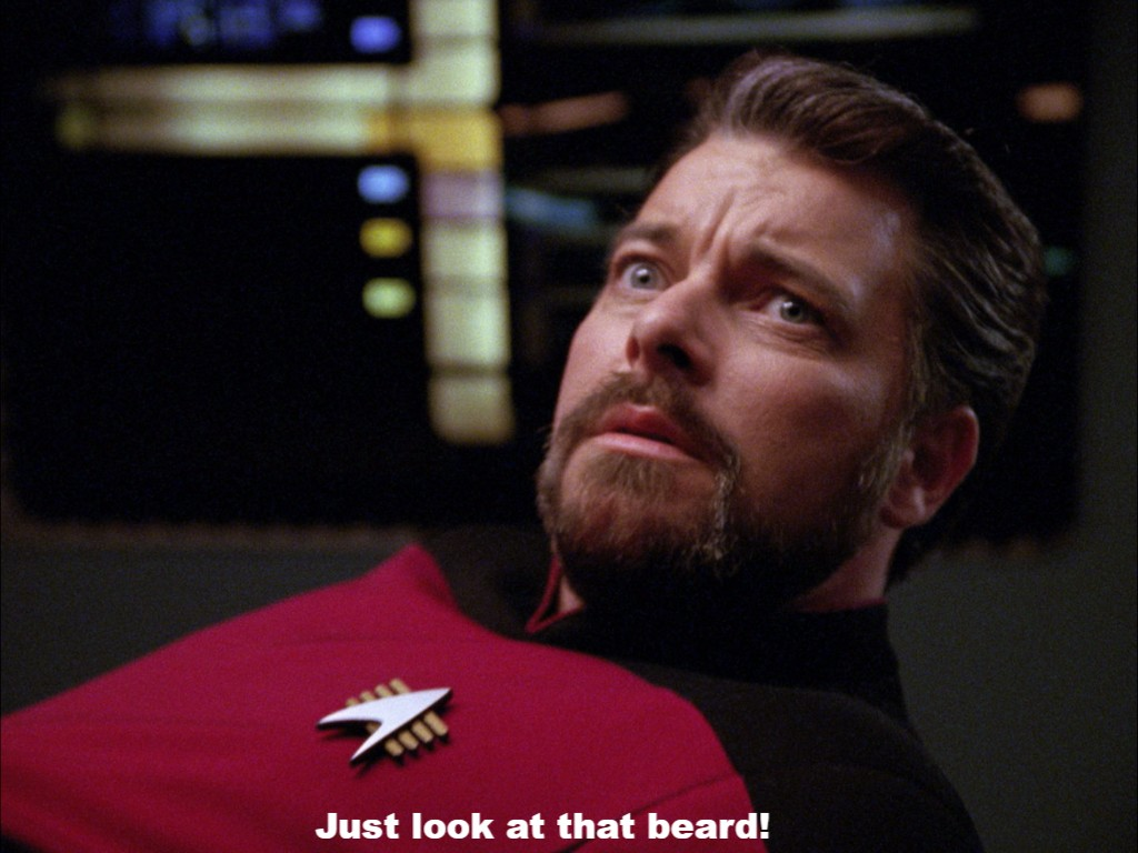 Just look at that beard!